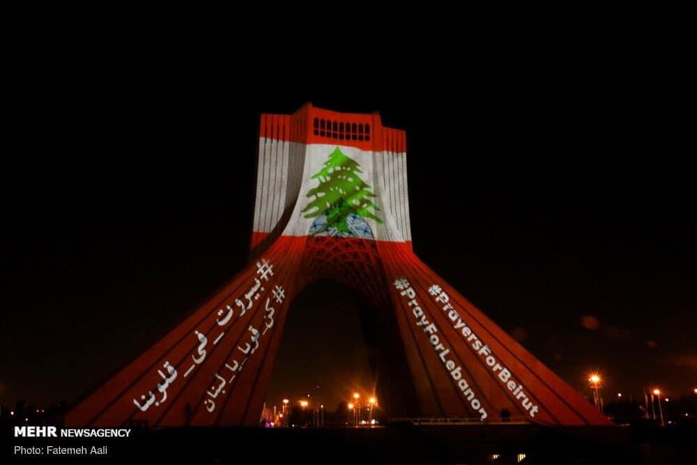 homenaje a las víctimas de Beirut