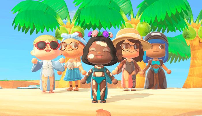 Animal Crossing presenta nuevos avatars inclusivos para elegir con 8 tonos y 19 tipos de piel diferentes 1