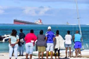 Naufragio en Isla Mauricio