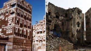 Casas de Saná, Yemen