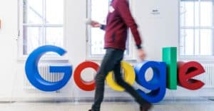 Google walking by