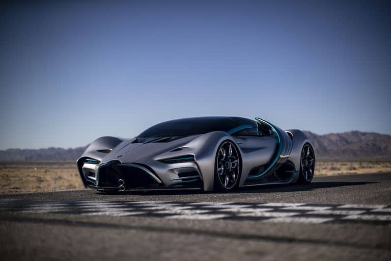 imagen hydrogen powered hyper car