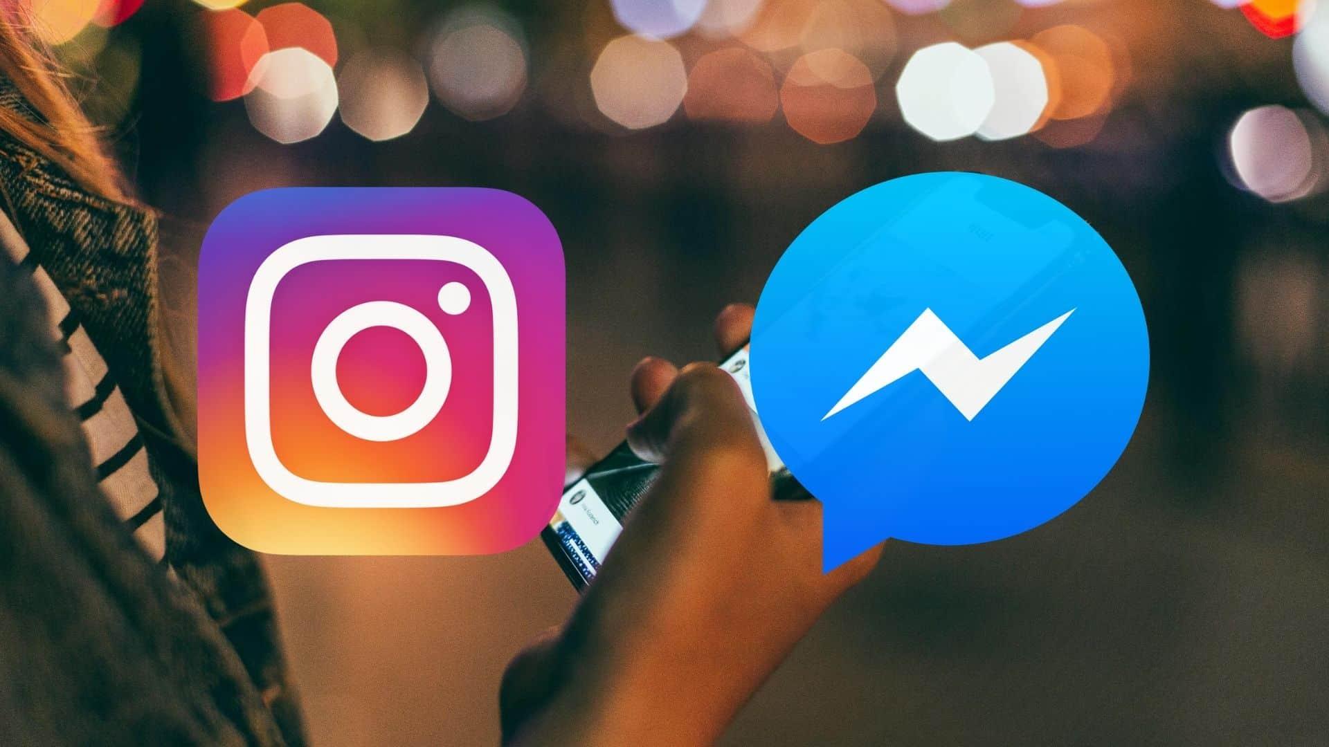 Instagram y Facebook unen sus servicios de mensajería