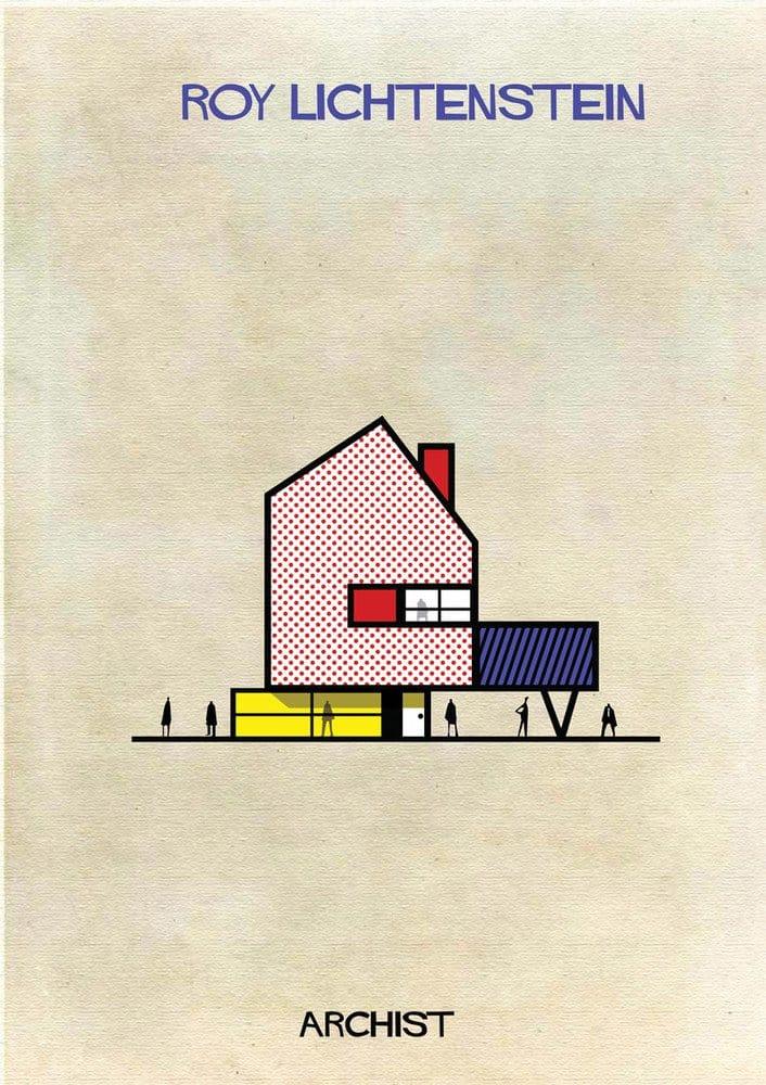 casas de 27 artistas pintores