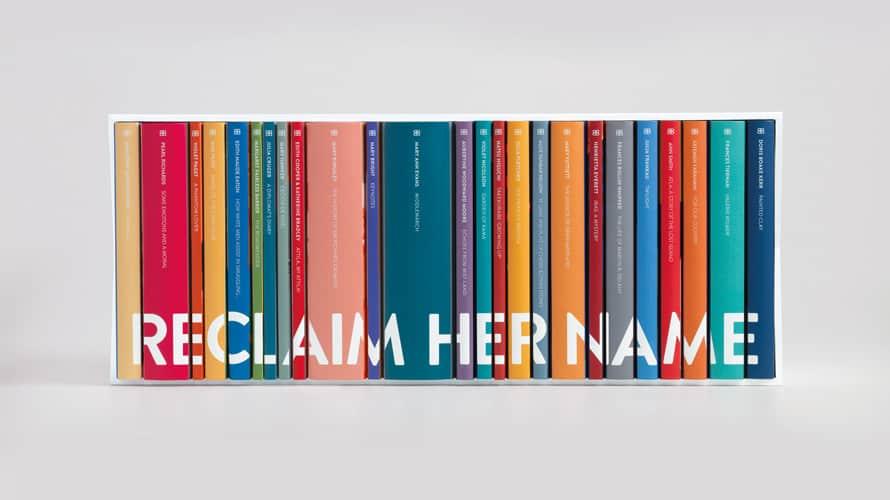 Lanzan una colección de libros de mujeres escritoras que debieron esconderse detrás de seudónimos masculinos para publicar sus obras