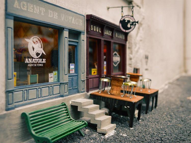 imagen Anonymouse Descubre Anonymouse un colectivo de arte en Suecia que crea tiendas y restaurantes en miniatura para ratones 3