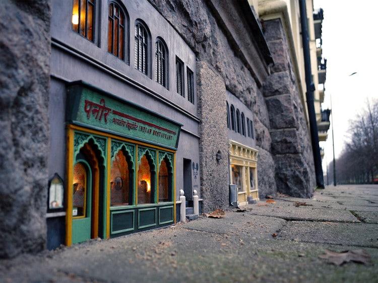 imagen Anonymouse Descubre Anonymouse un colectivo de arte en Suecia que crea tiendas y restaurantes en miniatura para ratones 4