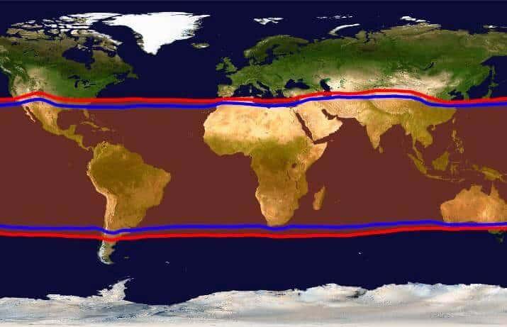 Expansión de los trópicos