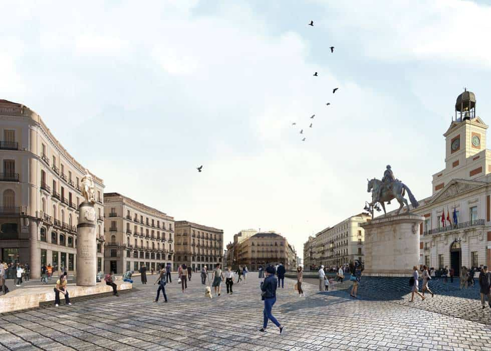 Puerta del Sol será completamente peatonal