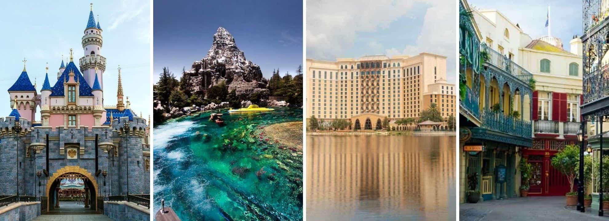 Algunas atracciones de Disney están inspiradas en estos lugares del mundo