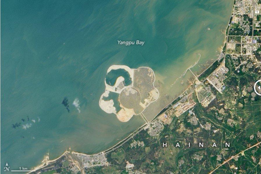 China se inspira en Dubái para construir la isla artificial turística más grande del mundo