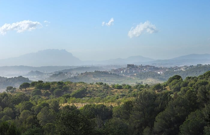 montaña de Tibidabo parque 2