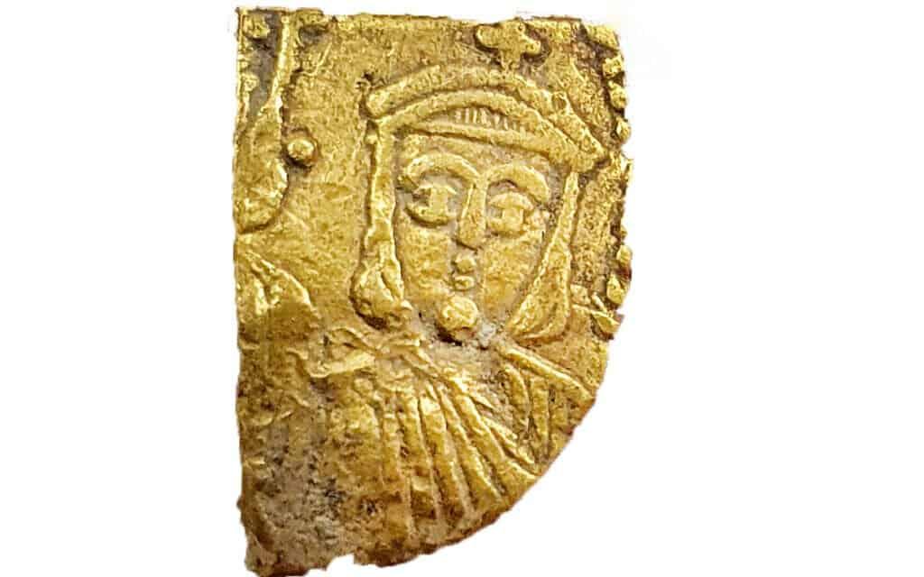 Monedas de oro en detalle