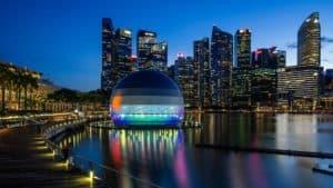 Nueva tienda de Apple en Singapur