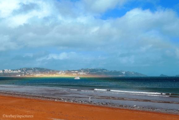 playa de Paignton en Devon