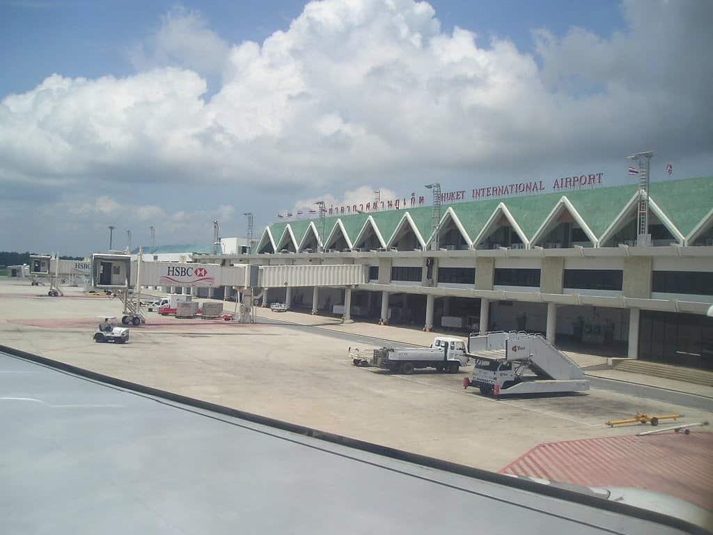 Aeropuerto Internacional de Phuket se prepara para recibir turistas internacionales