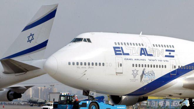 El lunes se realizará el primer vuelo comercial entre Israel y Emiratos Árabes Unidos