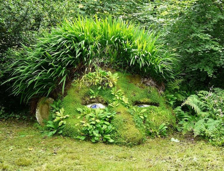 Los Jardines Perdidos de Heligan: un jardín con esculturas que cambian según la estación