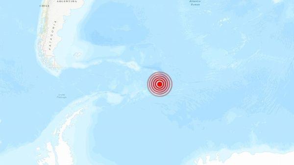 terremotos sacudieron a  la Antártida