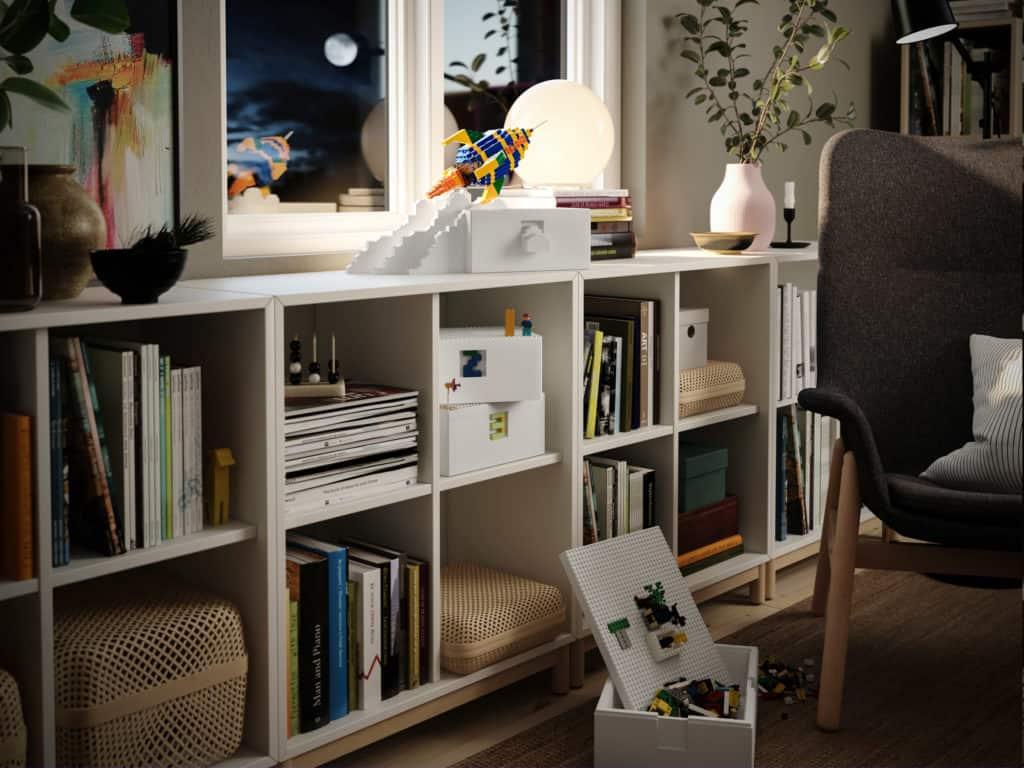 Ikea y LEGO lanzan una colección de cajas