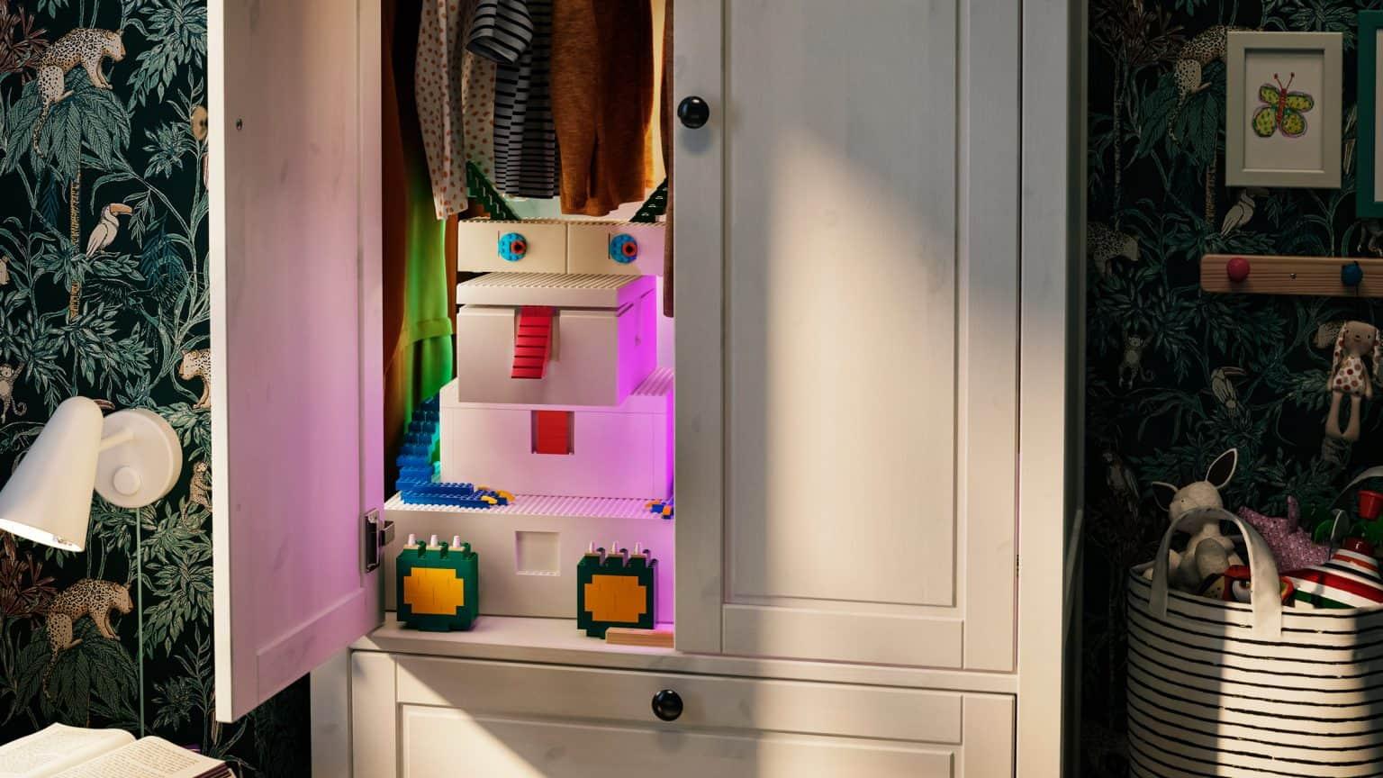 Ikea y LEGO lanzan una colección de cajas juguete ideales para guardar cosas y decorar habitaciones
