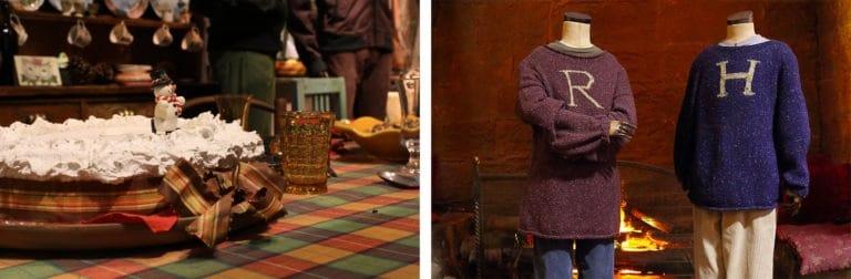 El Mundo Mágico de Harry Potter se prepara para la Navidad con Hogwarts in the snow