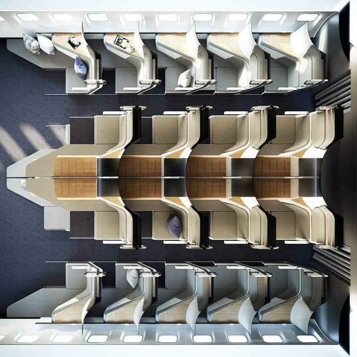 aviones de dos pisos