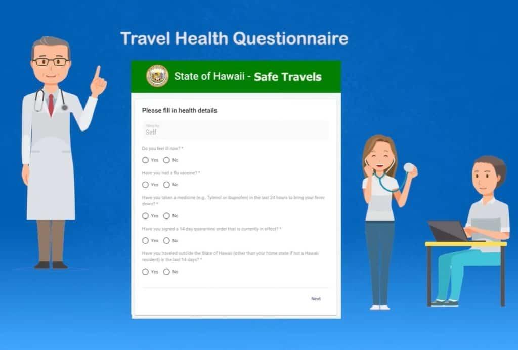 Hawai solicita un formulario online obligatorio para las personas que quieran viajar a las islas