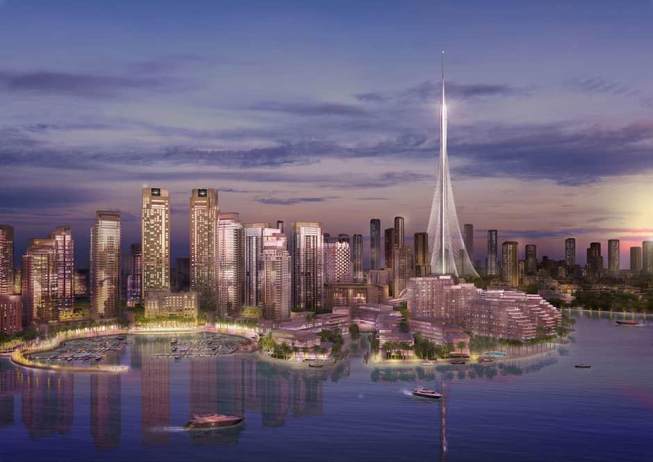 Conoce la Dubai Creek Tower, una estructura que superará al Burj Khalifa y se convertiría en el edificio más grande del mundo 1