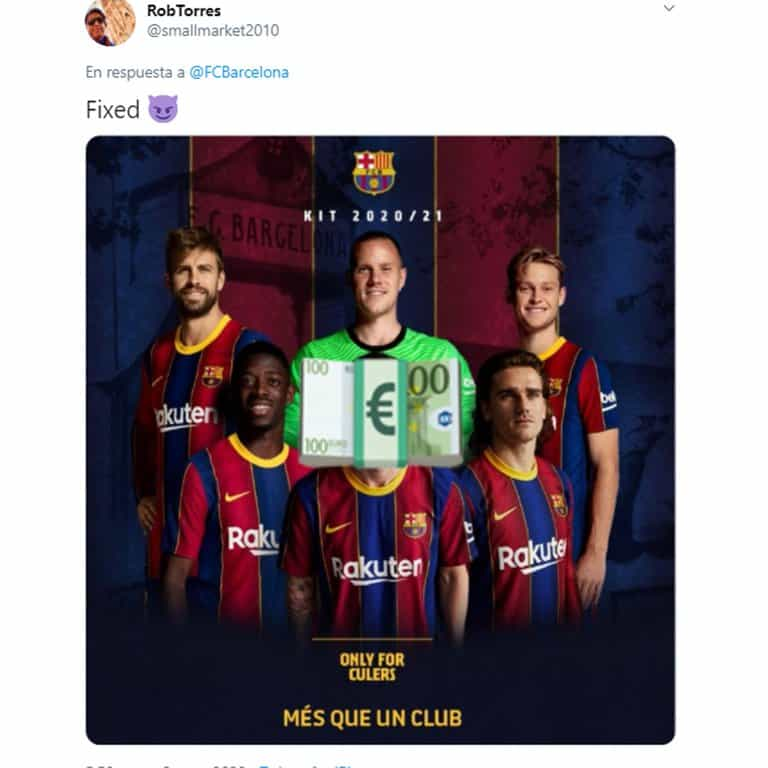 Barcelona sacó a la venta su nueva camiseta