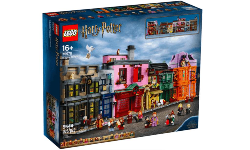 LEGO lanza un nuevo set de Harry Potter para recrear Diagon Alley, la calle comercial más mágica de Londres, con 5.544 piezas