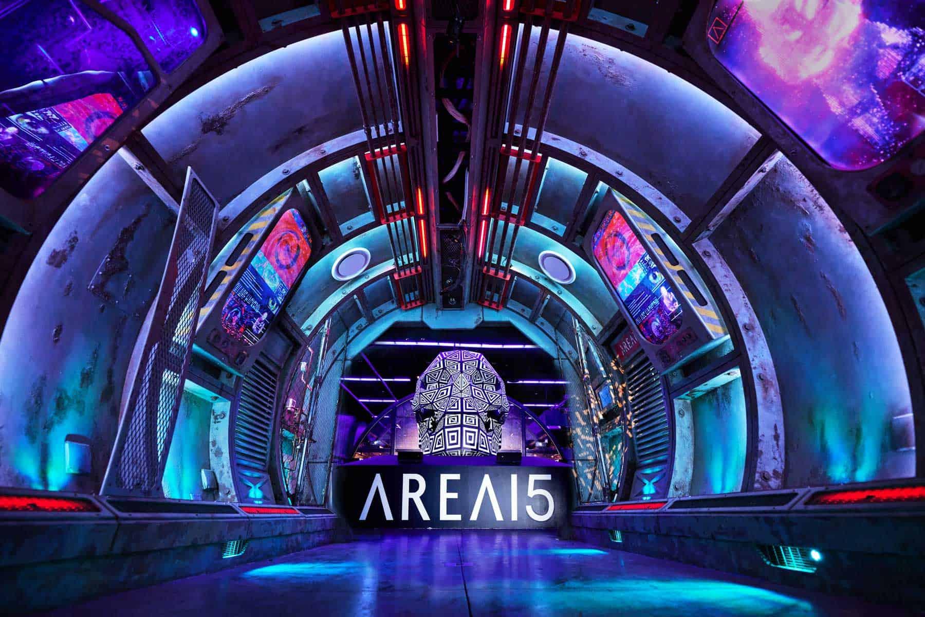 Abren una experiencia de arte inmersiva con temática espacial en Las Vegas