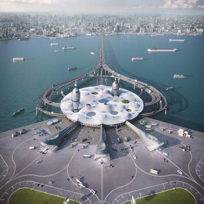 Spaceport City: una nueva forma de transporte para viajar al espacio