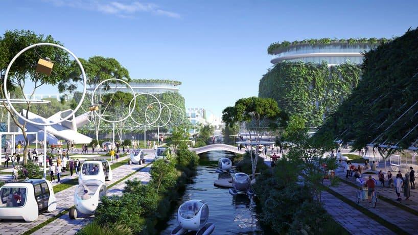 BiodiverCity: el proyecto que construirá 3 islas en Malasia que serán sustentables y social y económicamente inclusivas