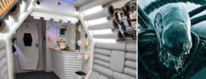 Un fan de las películas de Alien construyó su propio museo en Barcelona, España