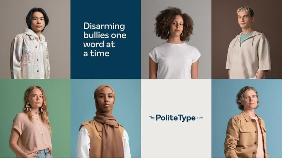 """""""The Polite Type"""", una tipografía que lucha contra el bullying online reemplazando las palabras hirientes"""