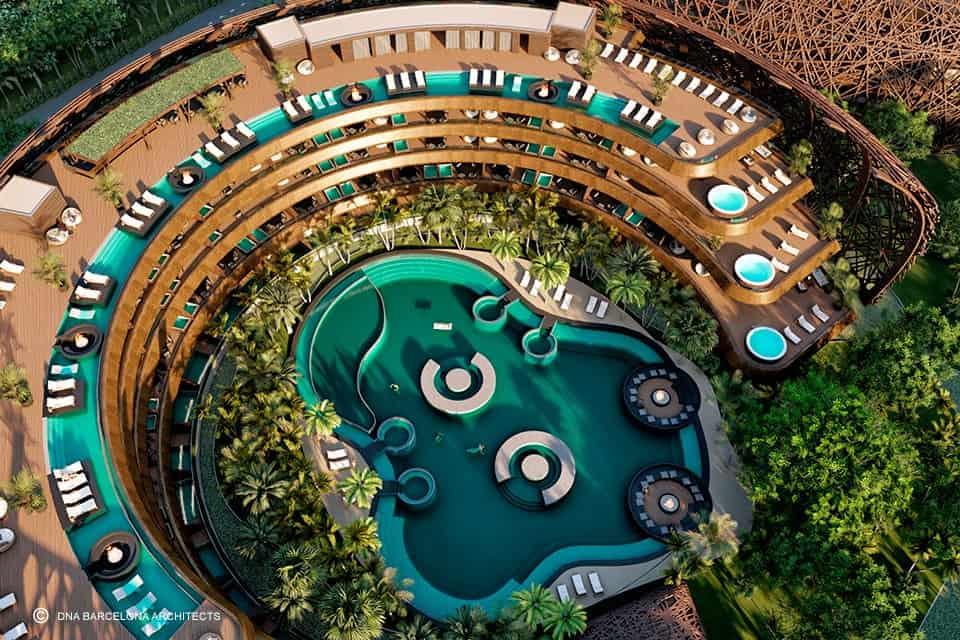 hospedarse en Tulum Este eco resort con forma de nido podria convertirse en una nueva atraccion para hospedarse en Tulum 3