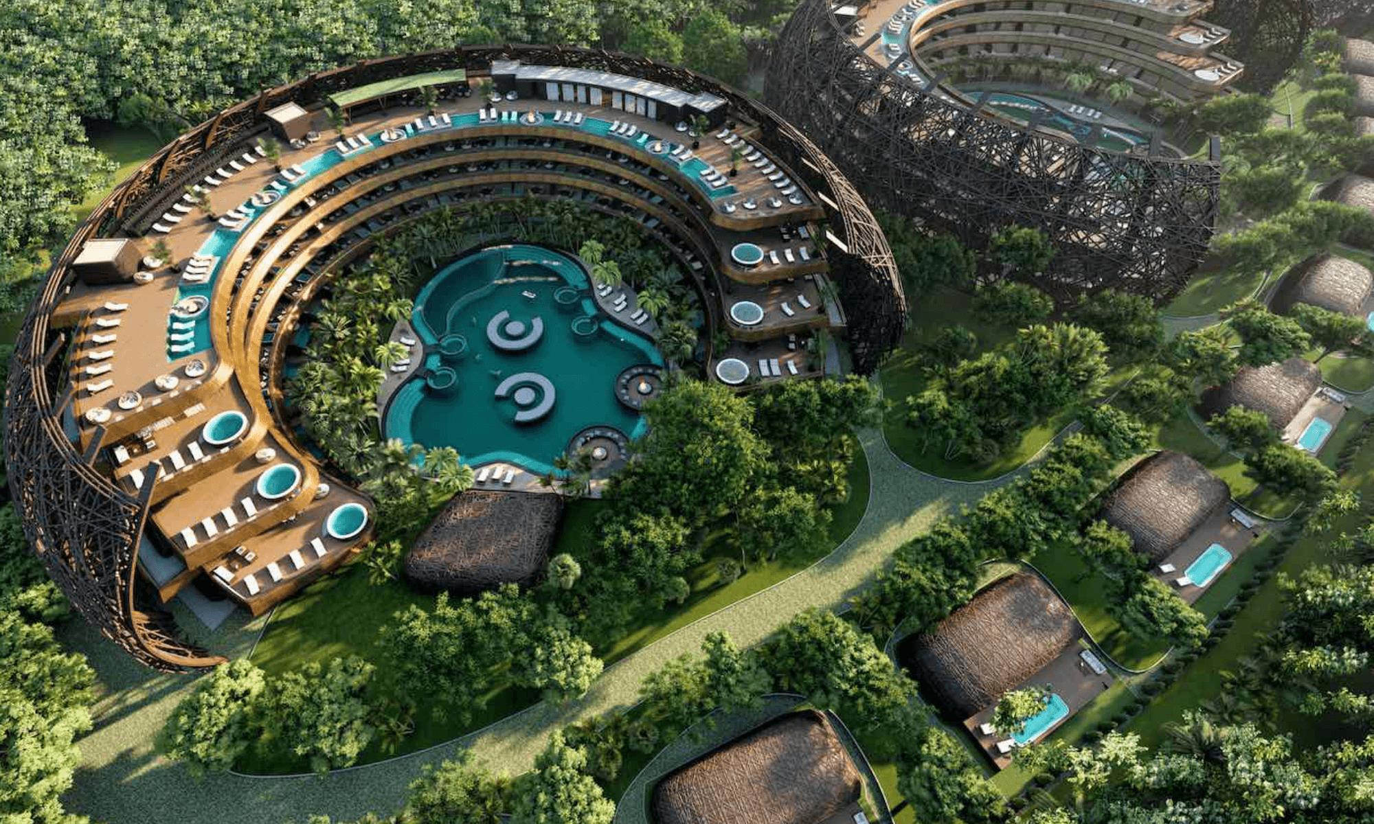 Este eco-resort con forma de nido podría convertirse en una nueva atracción para hospedarse en Tulum 1