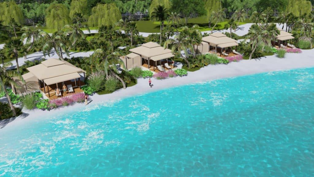 Silent Resorts: una alternativa para vacacionar en villas flotantes que funcionan con energía solar