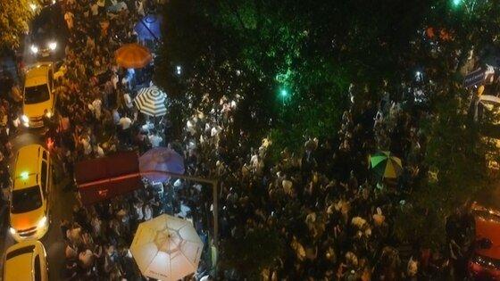 Imágenes aéreas registran multitudes en Río de Janeiro durante los festejos por el Día de la Independencia de Brasil