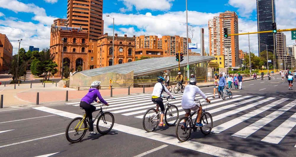 Recorrer Colombia en bicicleta bogota