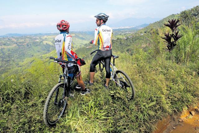 Recorrer Colombia en bicicleta ruta del cafe