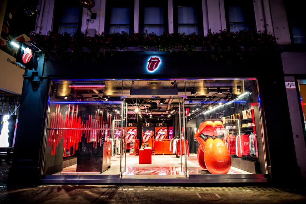Londres: abrió la primera tienda de The Rolling Stones en Carnaby Street