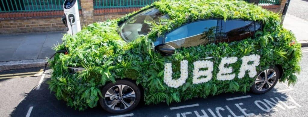 """Uber buscará convertirse en una plataforma de movilidad """"cero emisiones"""" para 2040"""