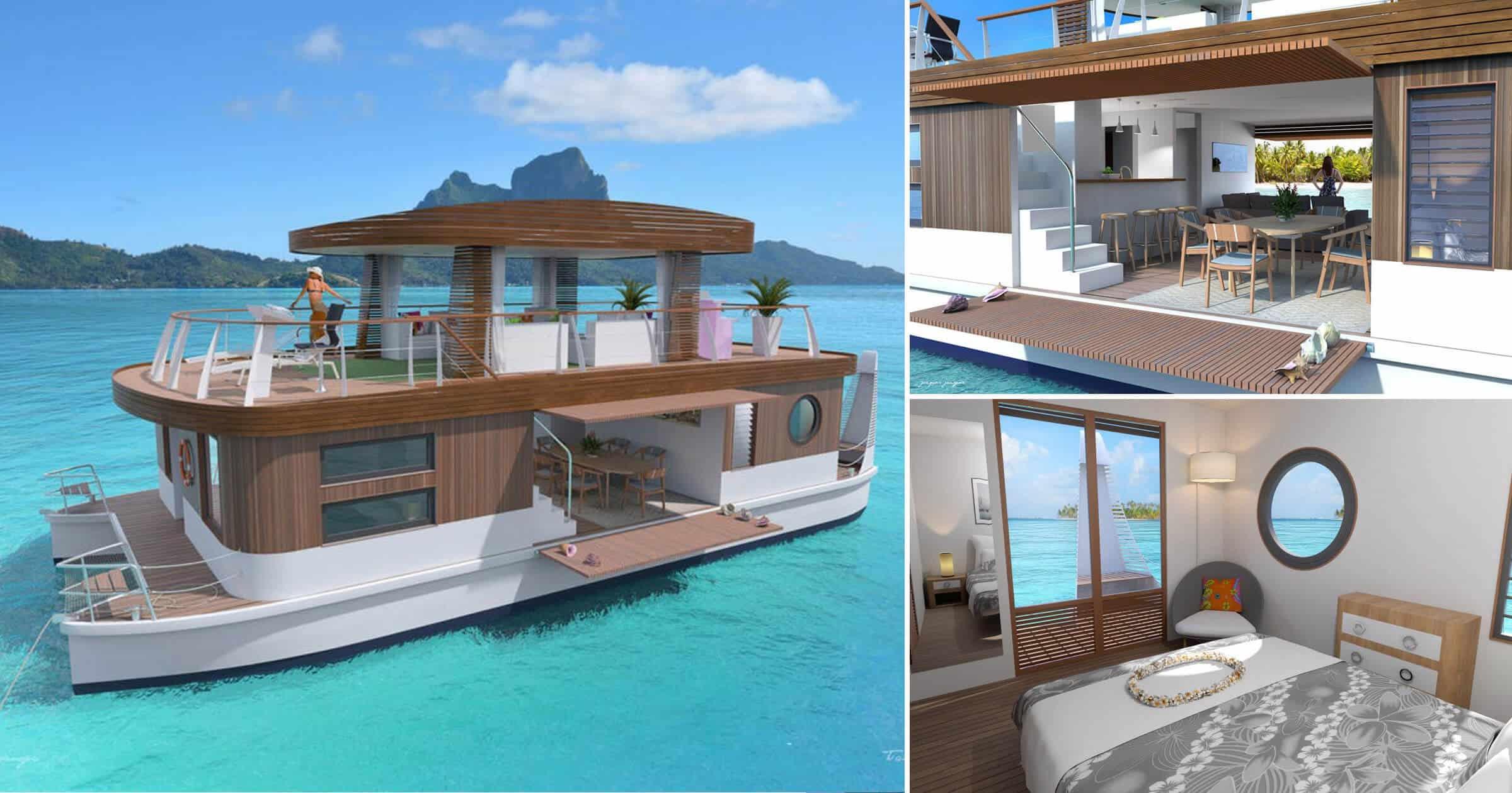 villa flotante