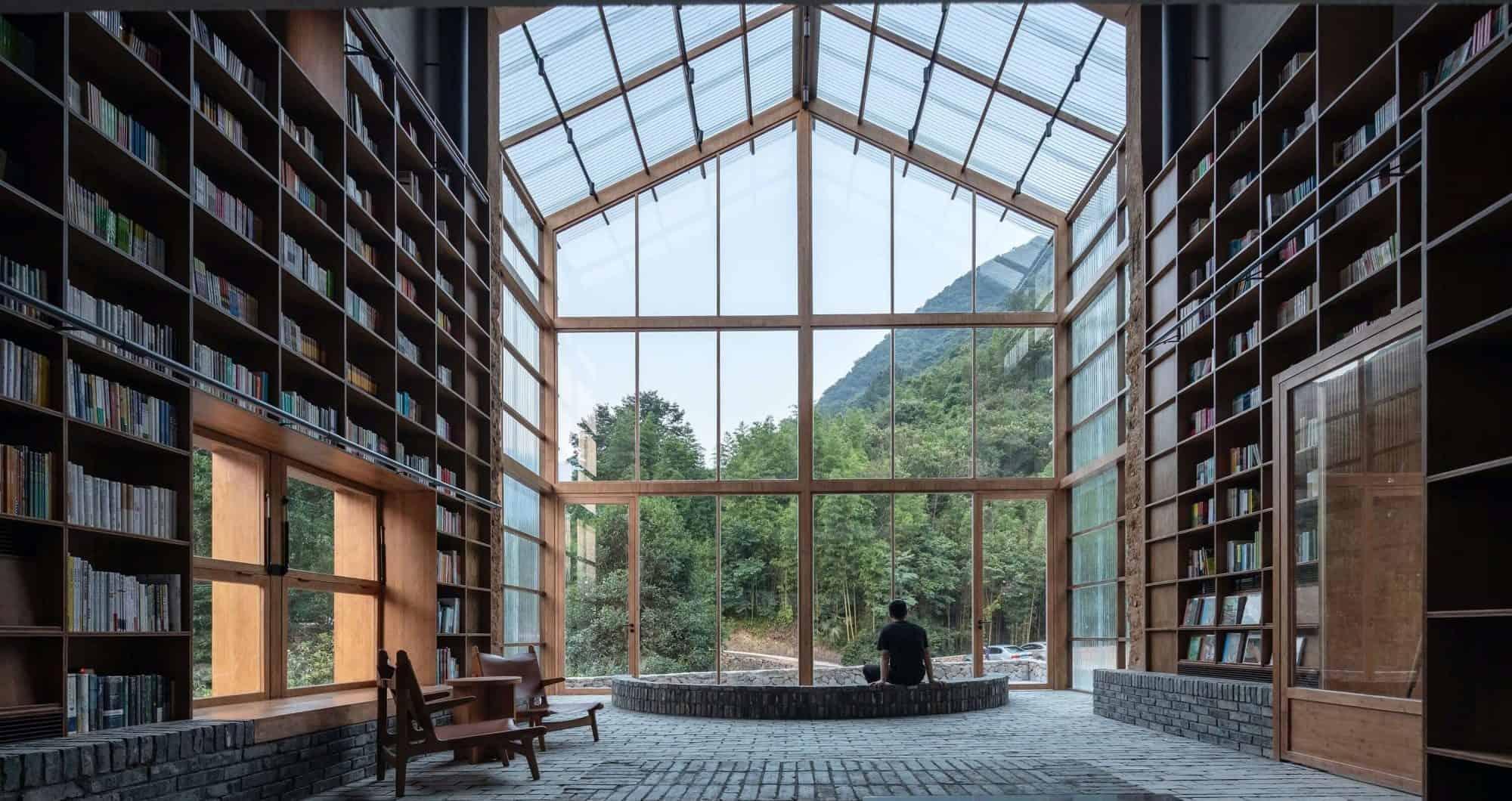 En China existe un hotel biblioteca en el cual puedes pasar la noche