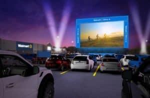 160 mercados Walmart convertirán sus estacionamientos en autocines en Estados Unidos