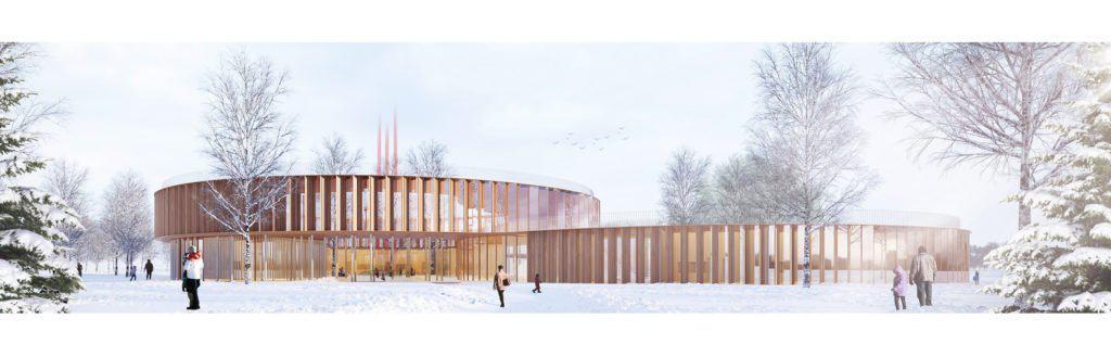 Diseñan un edifico para escuelas que es sustentable y pensado para una era post COVID-19
