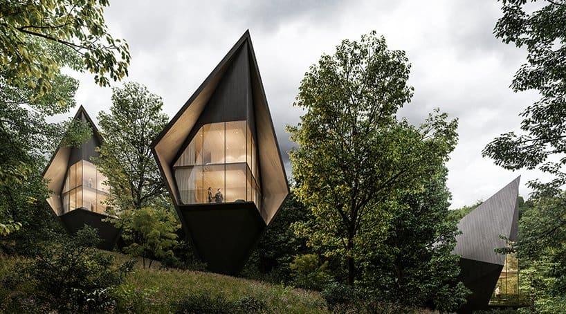 Construirán un resort basado en diseños de casas del árbol en West Virginia para 2021
