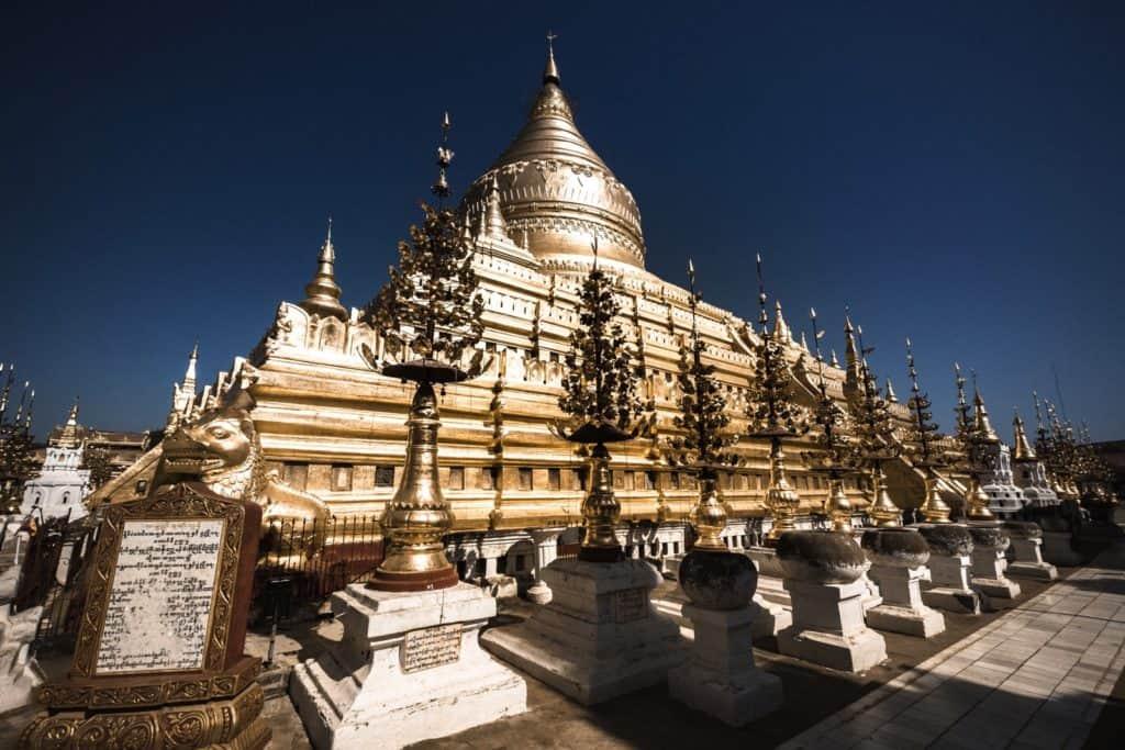 templo sin turistas myammar